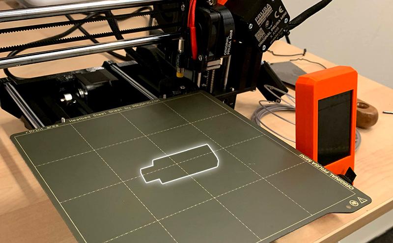 Virtuater - USB stick 3d printer